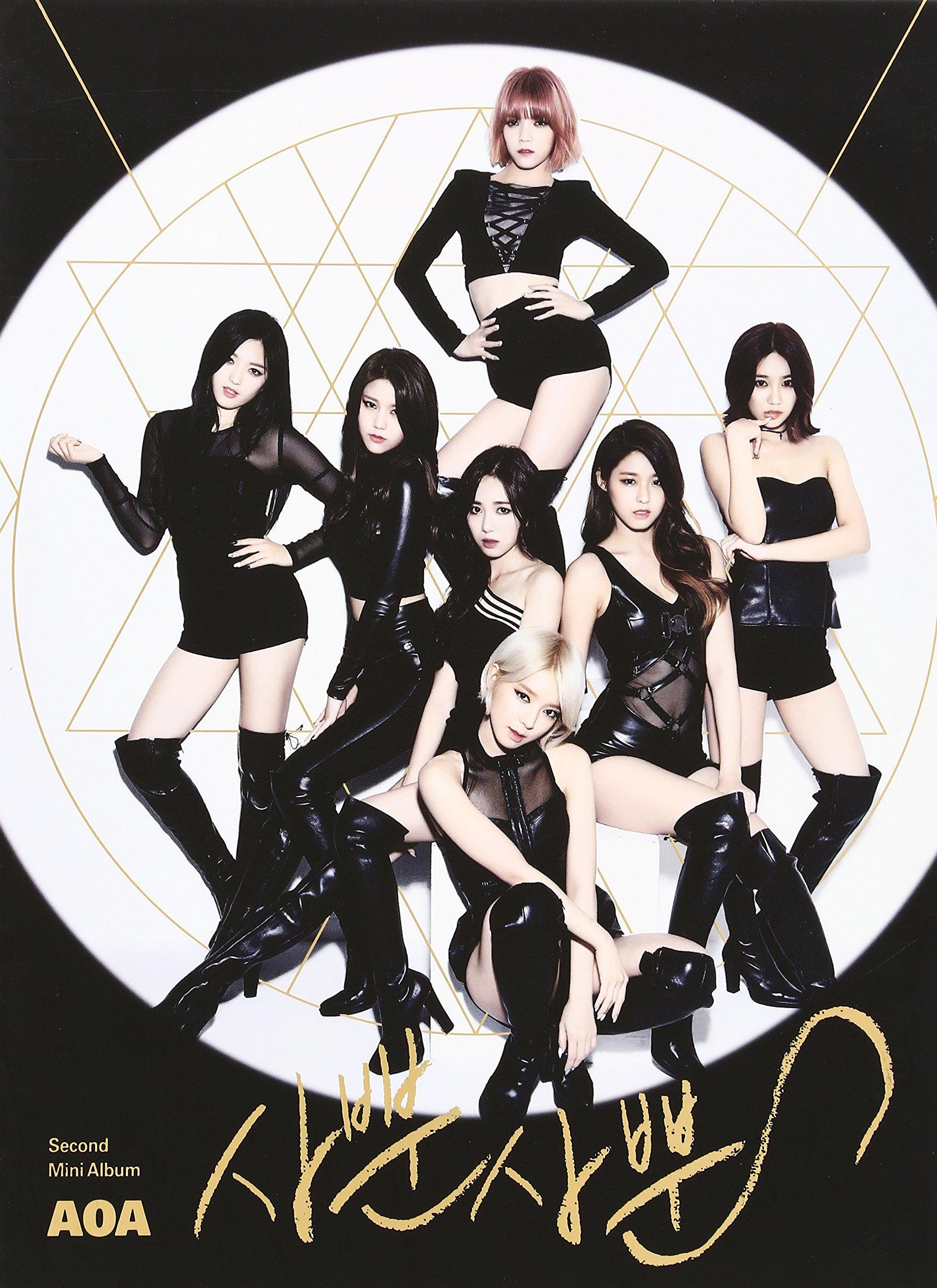 Aoa 2nd Mini Album by Imports