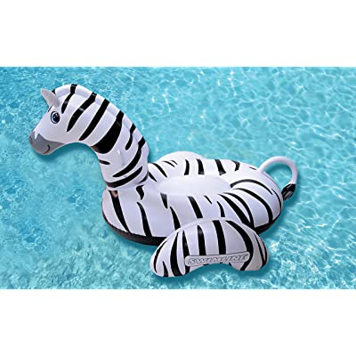 Swimline Giant Zebra Pool Float: Toys & Games