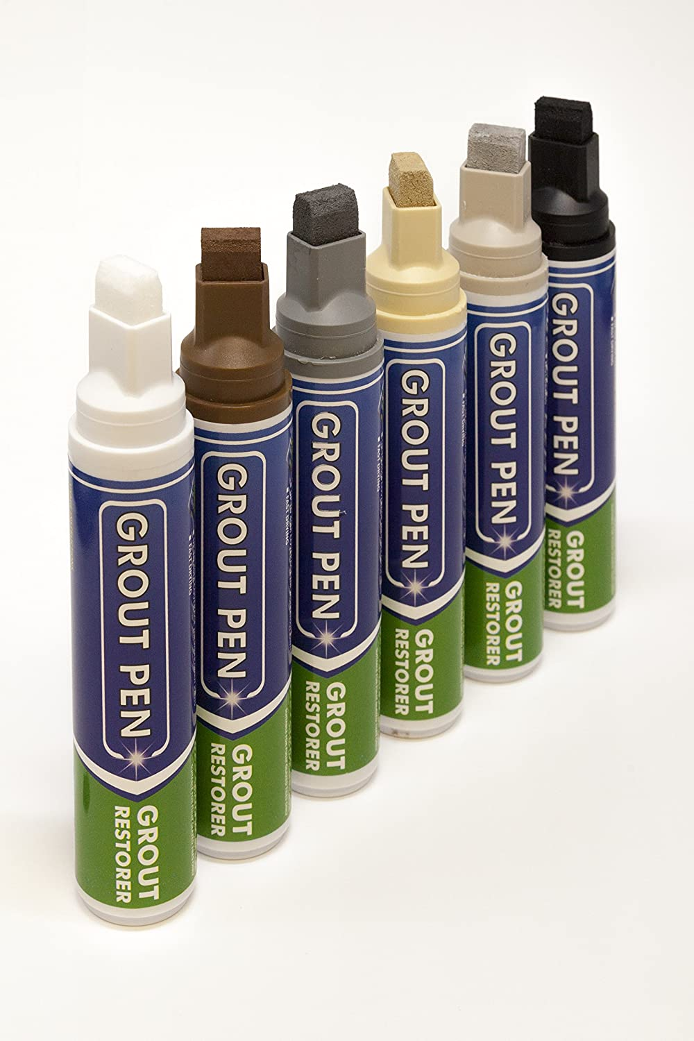 Grout Pen Large Brown - Revives & Restores Stained Tile Grout ...