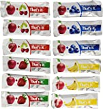That's it Super Variety Pack of 12 (3 Apple+Cherry, 3 Apple+Strawberry, 3 Apple+Banana, 3 Apple+Blueberry)