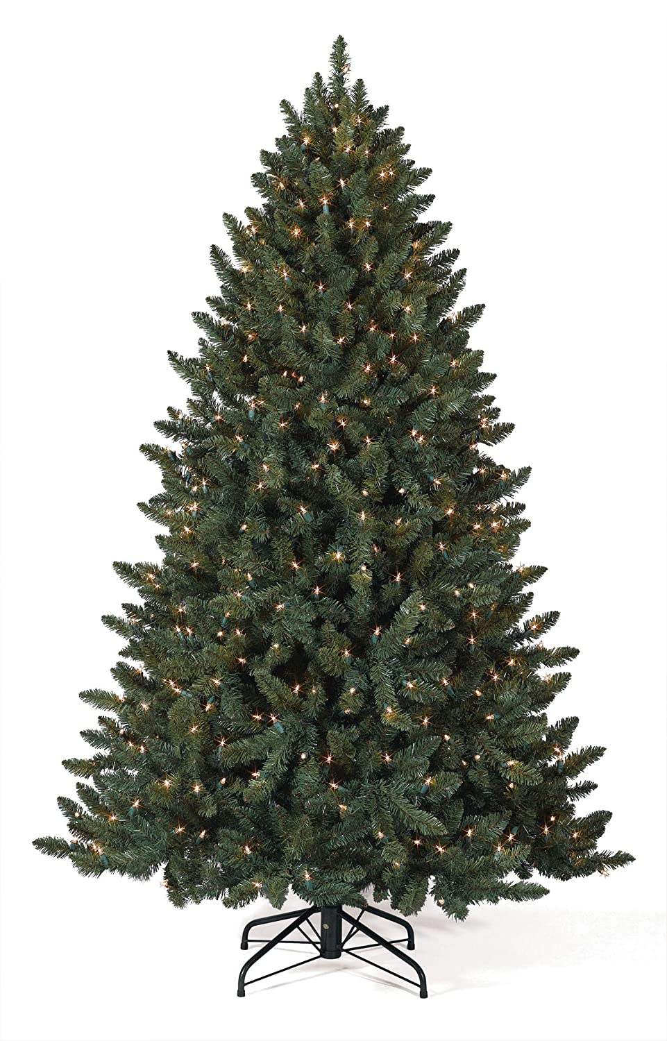 6' Balsam Spruce Prelit Artificial Christmas Trees with Clear Lights