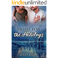 Home for the Holidays: A Gay For You Christmas Romance book cover