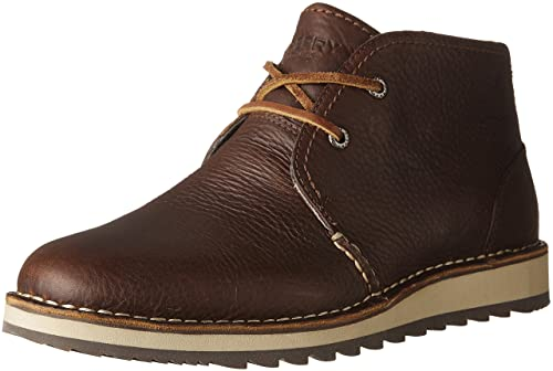 Sperry Mens Dockyard Chukka Brown 1 Boot