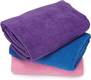 Microfiber Pet Towel 3 Pack in Assorted Color