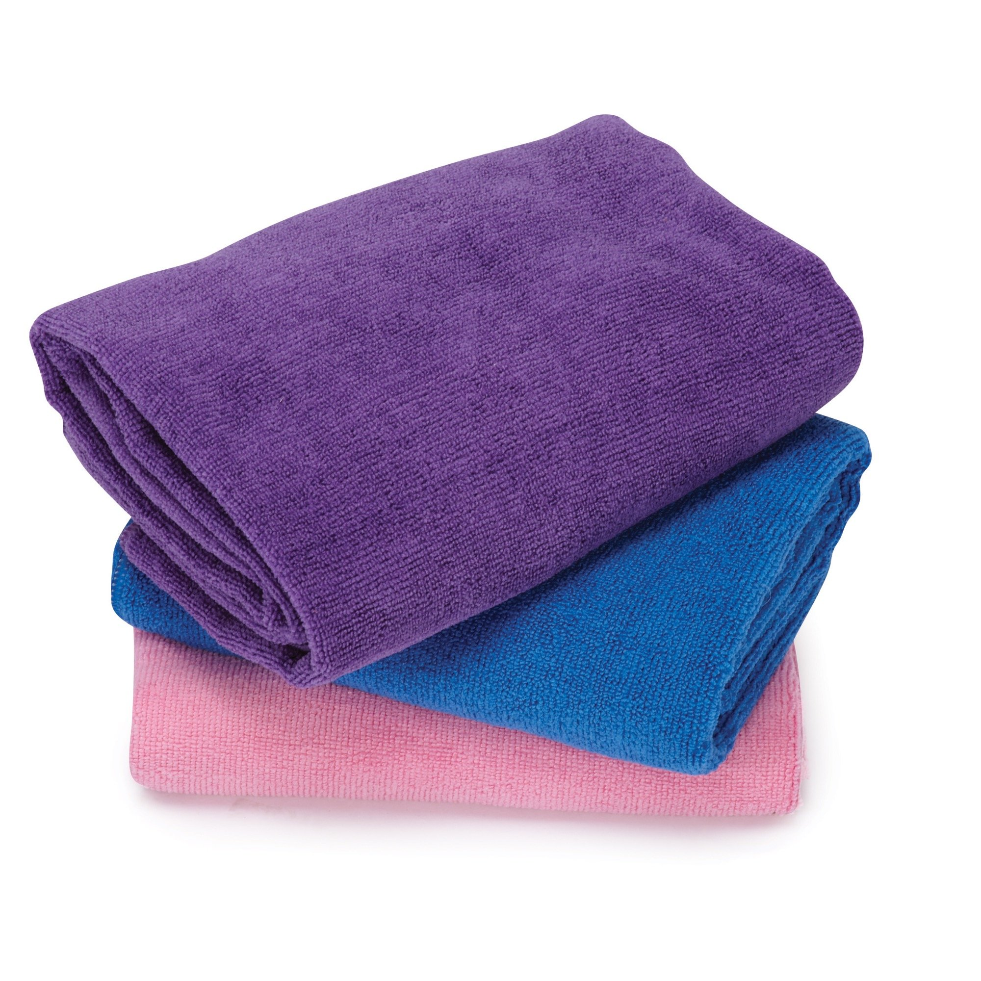 Top Performance  Microfiber Towels - Convenient, Brightly Colored Towels for Drying Pets After Bathing - 48'', 3-Pack