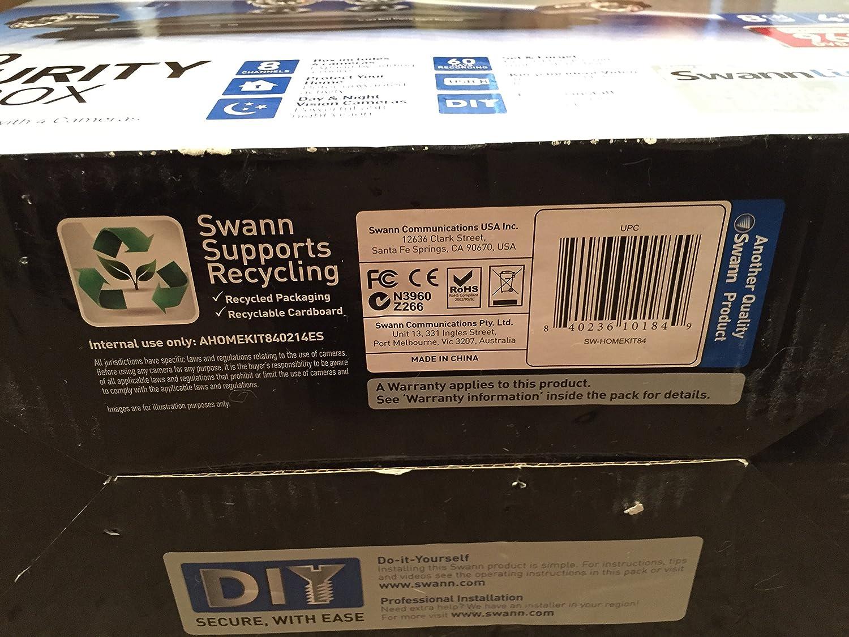 Amazon.com: Swann Home Pro Day/Night Security Camera Kit: Home Improvement