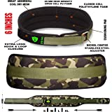 Xtrim Dura Belt -MEN GYM FITNESS WEIGHT LIFTING BELT Foam Padded Leather Contoured Weightlifting Belt with Moisture wicking Lining and Steel Roller Adjuster- WIDE 6 INCHES WIDTH - SATISFACTION GUARANTEED !