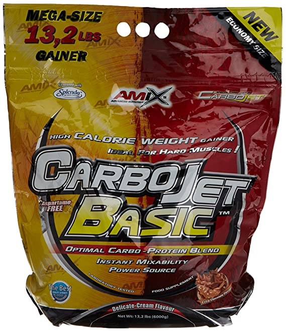 Amix Carbojet Basic Carbohidratos - 6000 gr_8594159535534: Amazon.es: Salud y cuidado personal