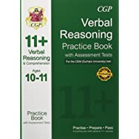 11+ Verbal Reasoning Practice Book with Assessment Tests (Ages 10-11) for the CEM Test (CGP 11+ CEM)