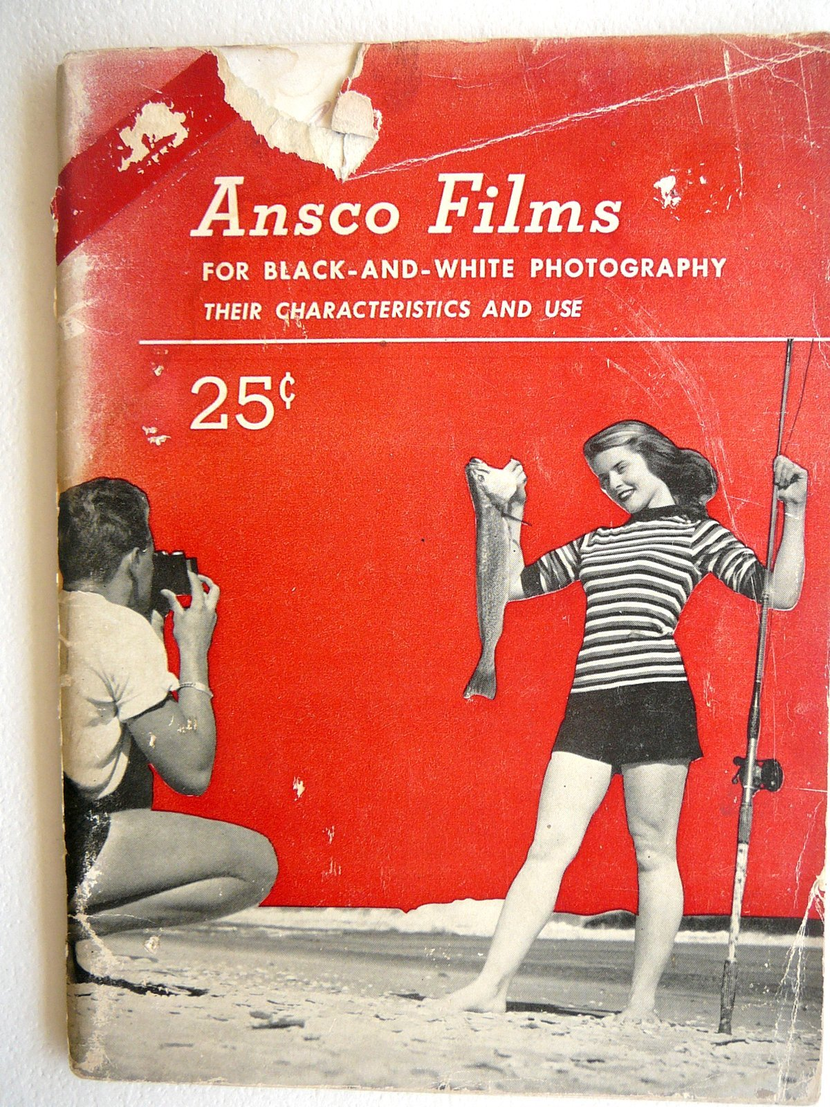 Ansco Films for Black and White Photography - Their Characteristics and Use