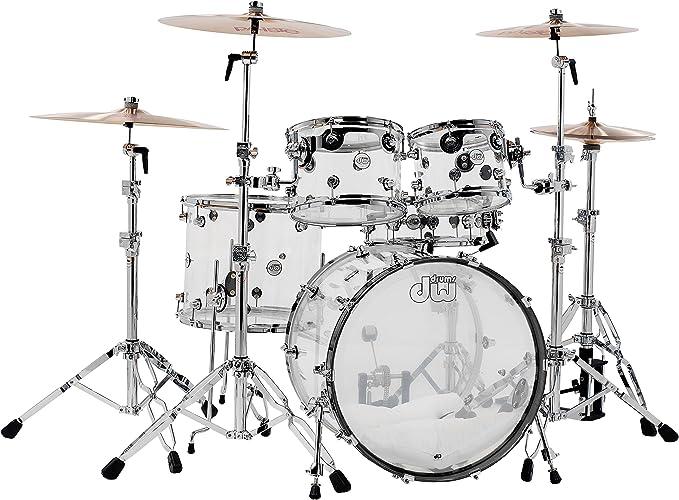 dw acrylic drums