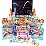 Sweet Hamper Retro Sweet Box to Share - Lunar Selection Box Perfect for Sharing - Contains 2 of Everything
