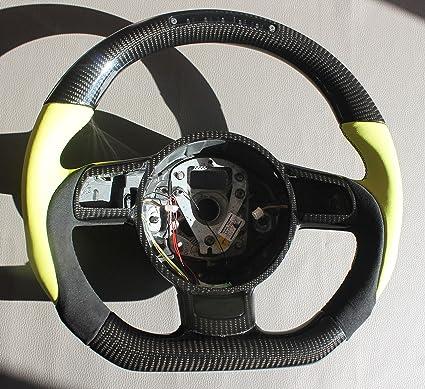 Amazoncom Carbon Fiber Steering Wheel Audi Audi R8 Type 42 2006