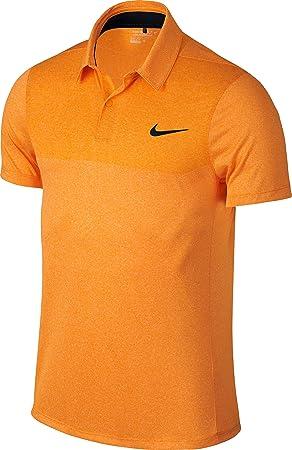 a174e6a9da3e Nike Major Moments Fly Blade Block - Polo pour Homme S Orange Black ...