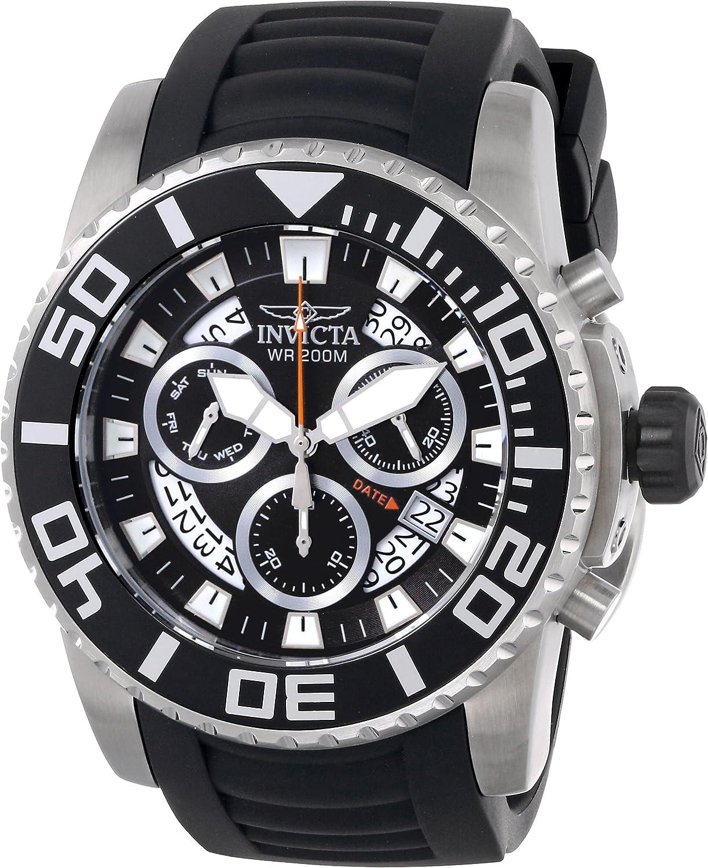 Invicta Men s 14671 Pro Diver Analog Display Swiss Quartz Black Watch