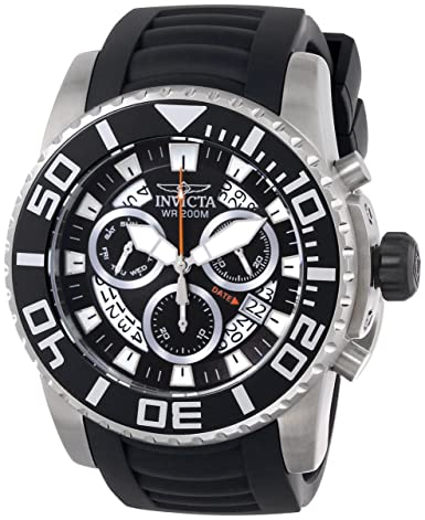 Invicta Men s 14671 Pro Diver Analog Display Swiss Quartz Black Watch