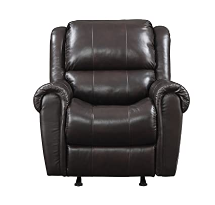 best authentic 027fd c7404 Amazon.com: Pulaski Leather Rocker Recliner, 36-Inch ...