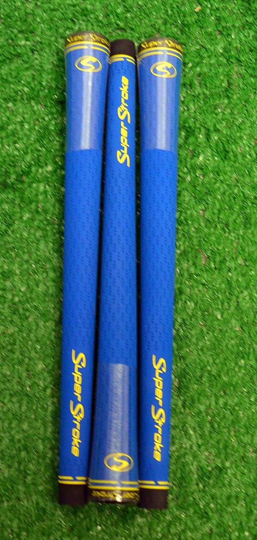 3 SuperStroke s-tech標準ゴルフグリップ – ブルー – 18956   B07BMFT76C