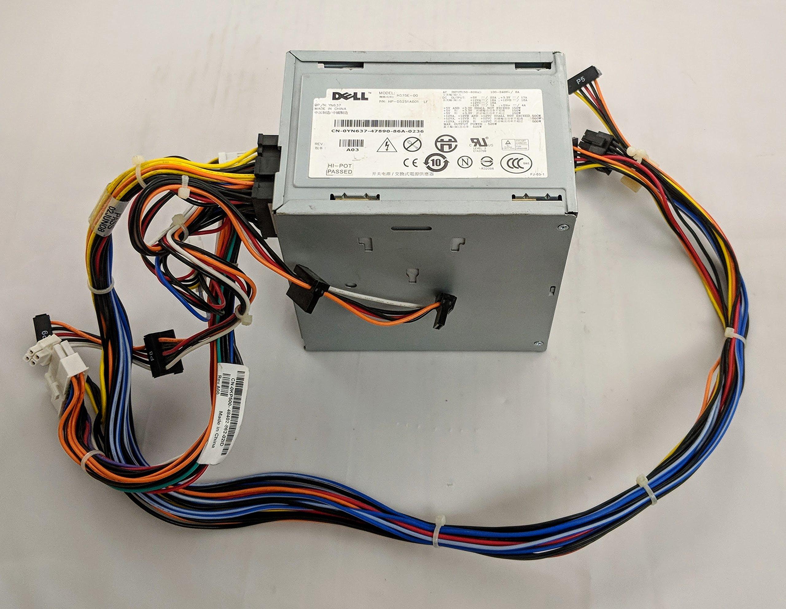 NPS-525AB A. Model Dell Precision T3400 525W Power Supply