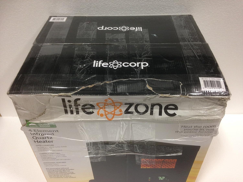 Lifezone 4 Element Infrared Heater Black Cabinet: Amazon.ca: Home ...