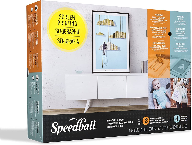 B000SKRHX0 Speedball 004523 Intermediate Deluxe Kit, Multicolor 91oav8hObFL.SL1500_
