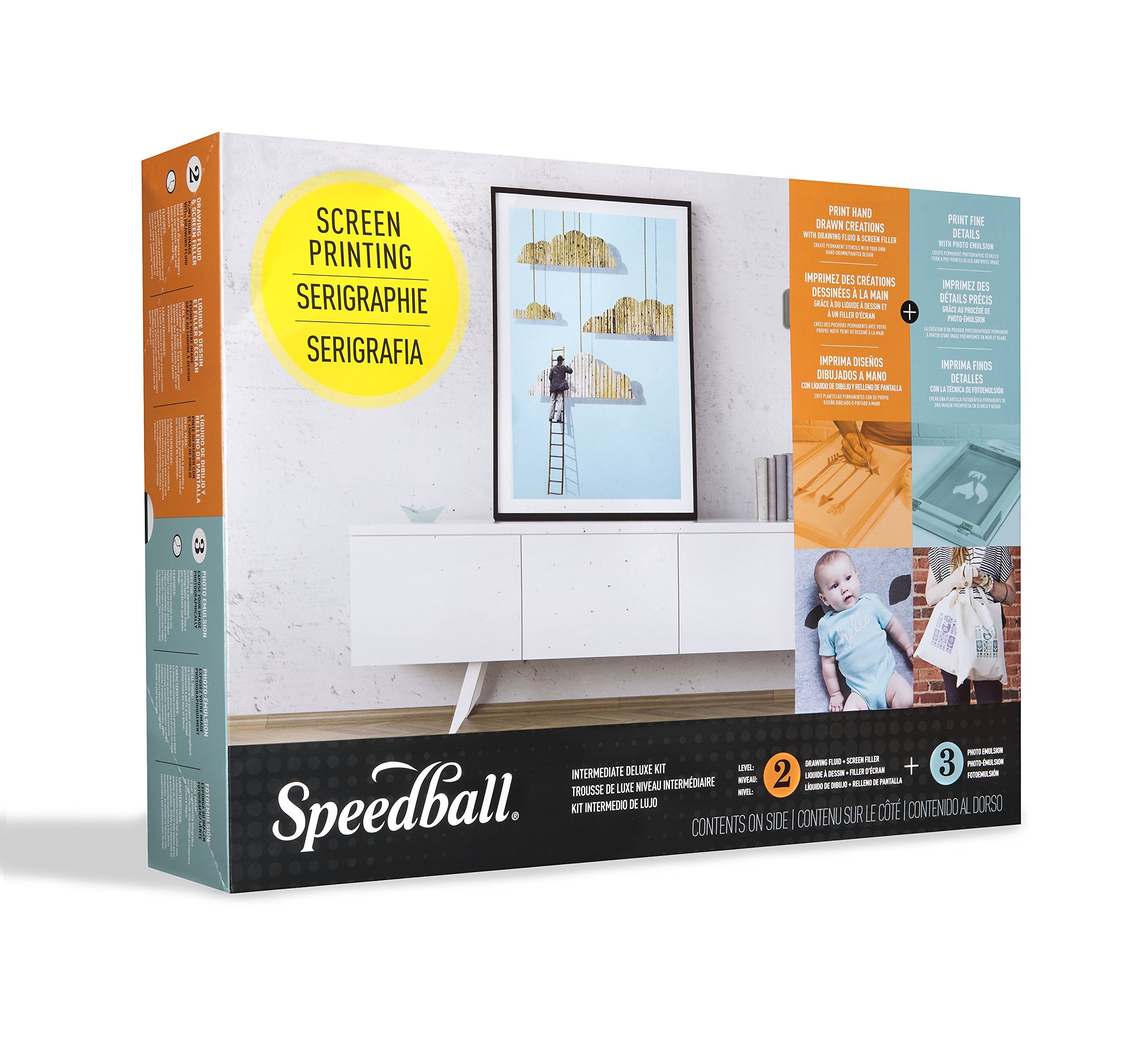 Speedball 004523 Intermediate Deluxe Kit