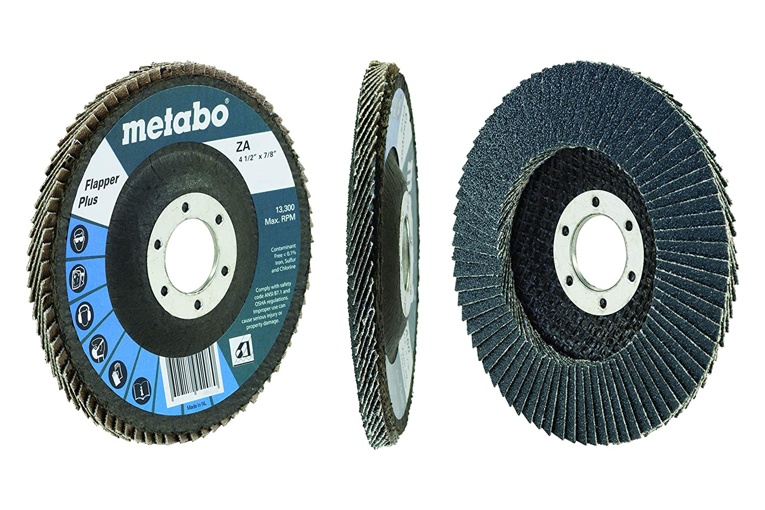 Metabo 629480000 4 1//2 Flapper Plus 36 7//8 T27 Fg