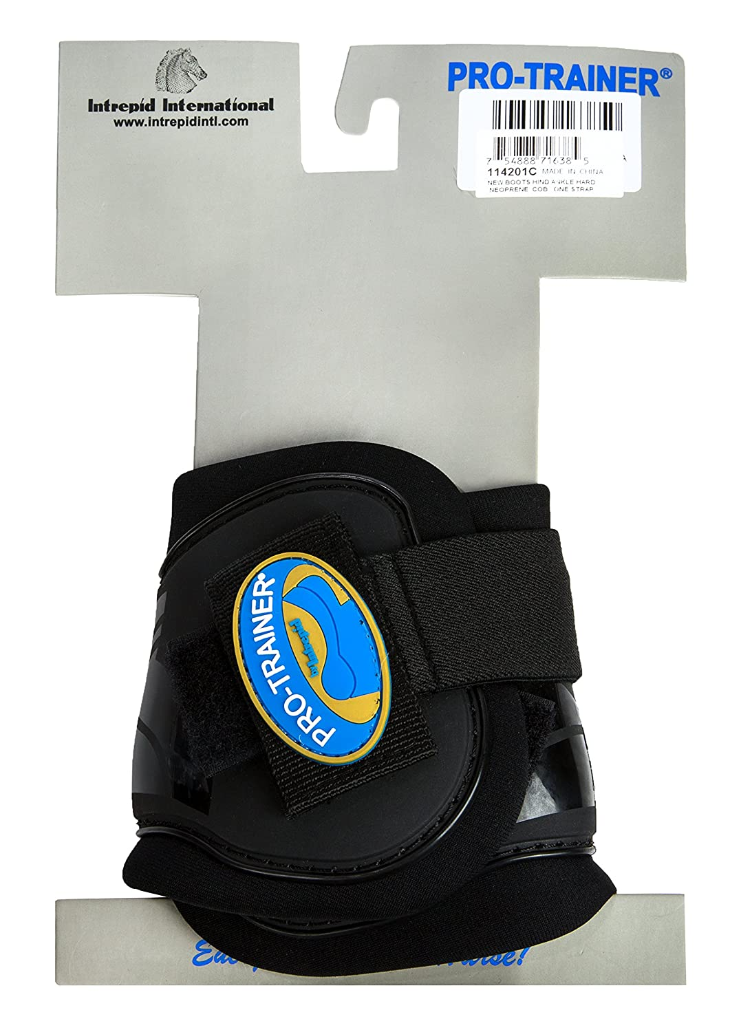 Intrepid International Pro-Trainer Hind Ankle Boots Cob