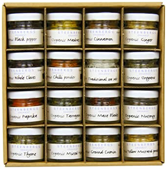 Steenbergs Organic Storecupboard Spice and Herbs Gift Set