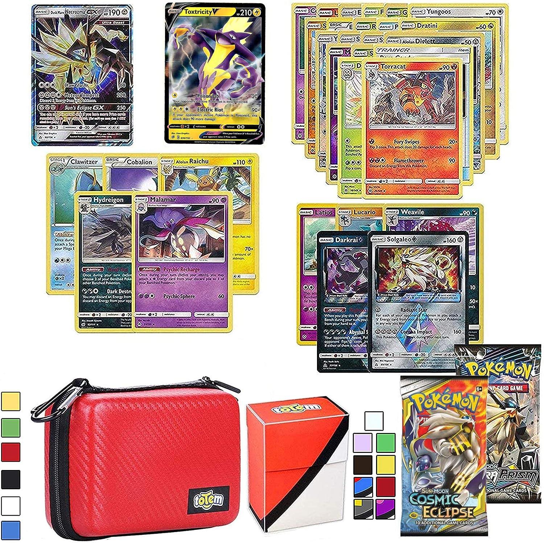 10 Card POKEMON TCG Lot OFFICIAL Cards w// GUARANTEED HOLO//Ultra Rare GX//EX WOW!