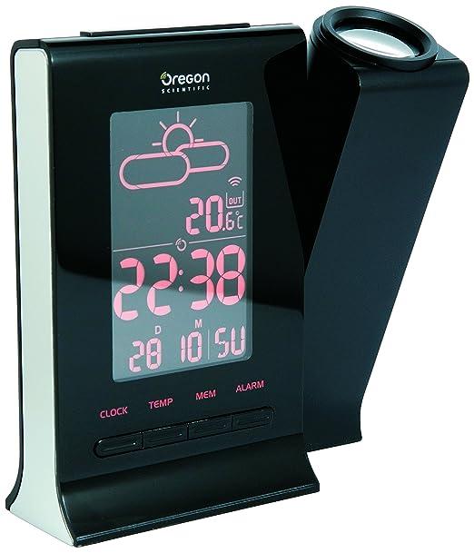 Oregon Scientific BAR339DP - Reloj y estación con proyección día y ...