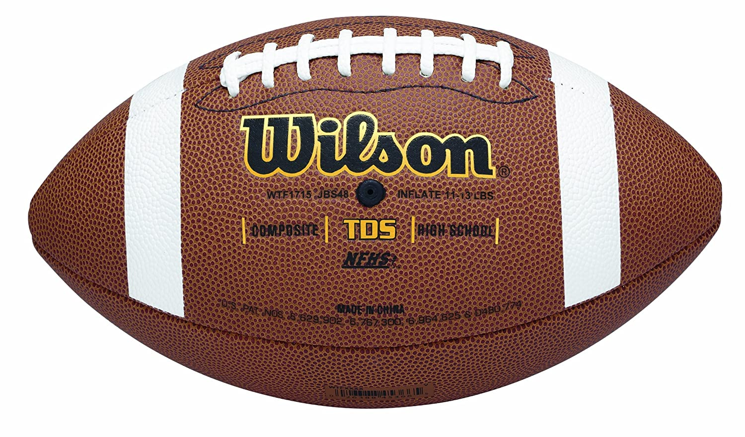 Wilson TDS Composite High School Game Ball Football WTF1715