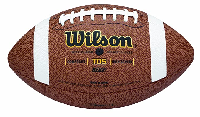 378583f1a06 Amazon.com   Wilson TDS Composite Football - Official Size   Official  Footballs   Sports   Outdoors