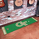 FANMATS NCAA Georgia Tech Yellow Jackets Nylon Face Putting Green Mat