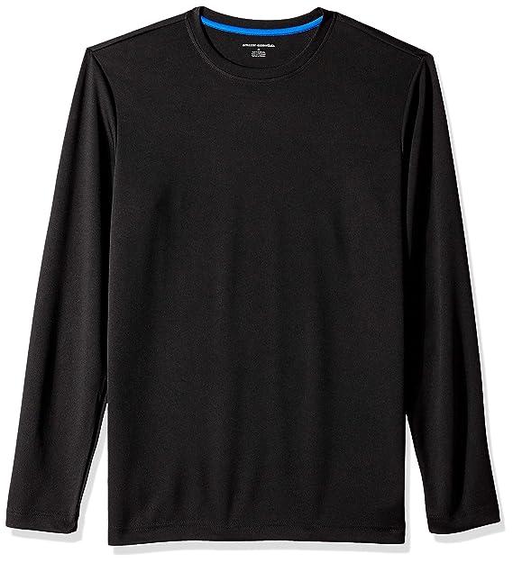 e9c566be97 Amazon Essentials Men's Performance Tech Long-Sleeve T-Shirt