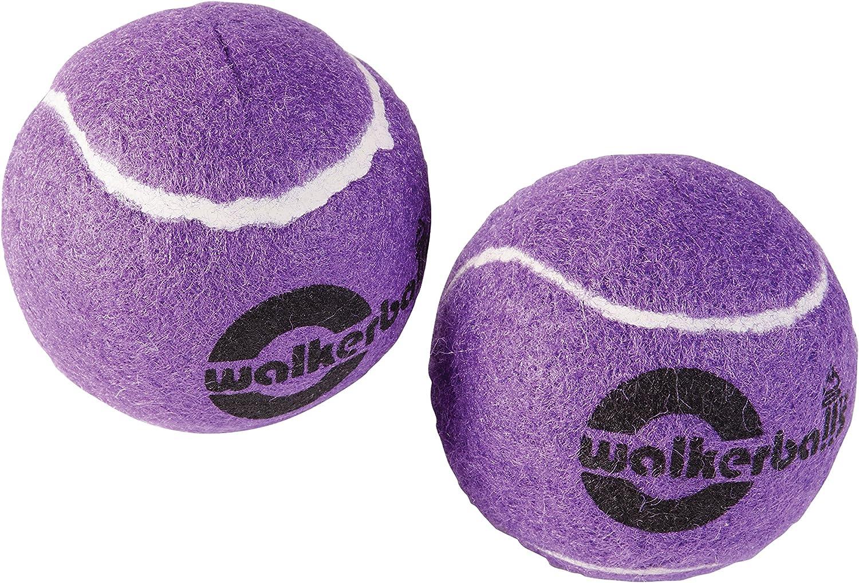 Mabis Dmi Healthcare Pre-Cut Walker Glide Balls, Purple, One Pair