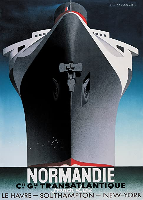 Image result for cassandre SS Normandie