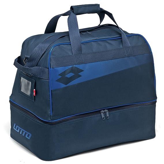 Lotto Soccer Omega Jr II, Mochila Unisex niños, Azul (Nvy/BLU Shv), 36x24x45 cm: Amazon.es: Zapatos y complementos