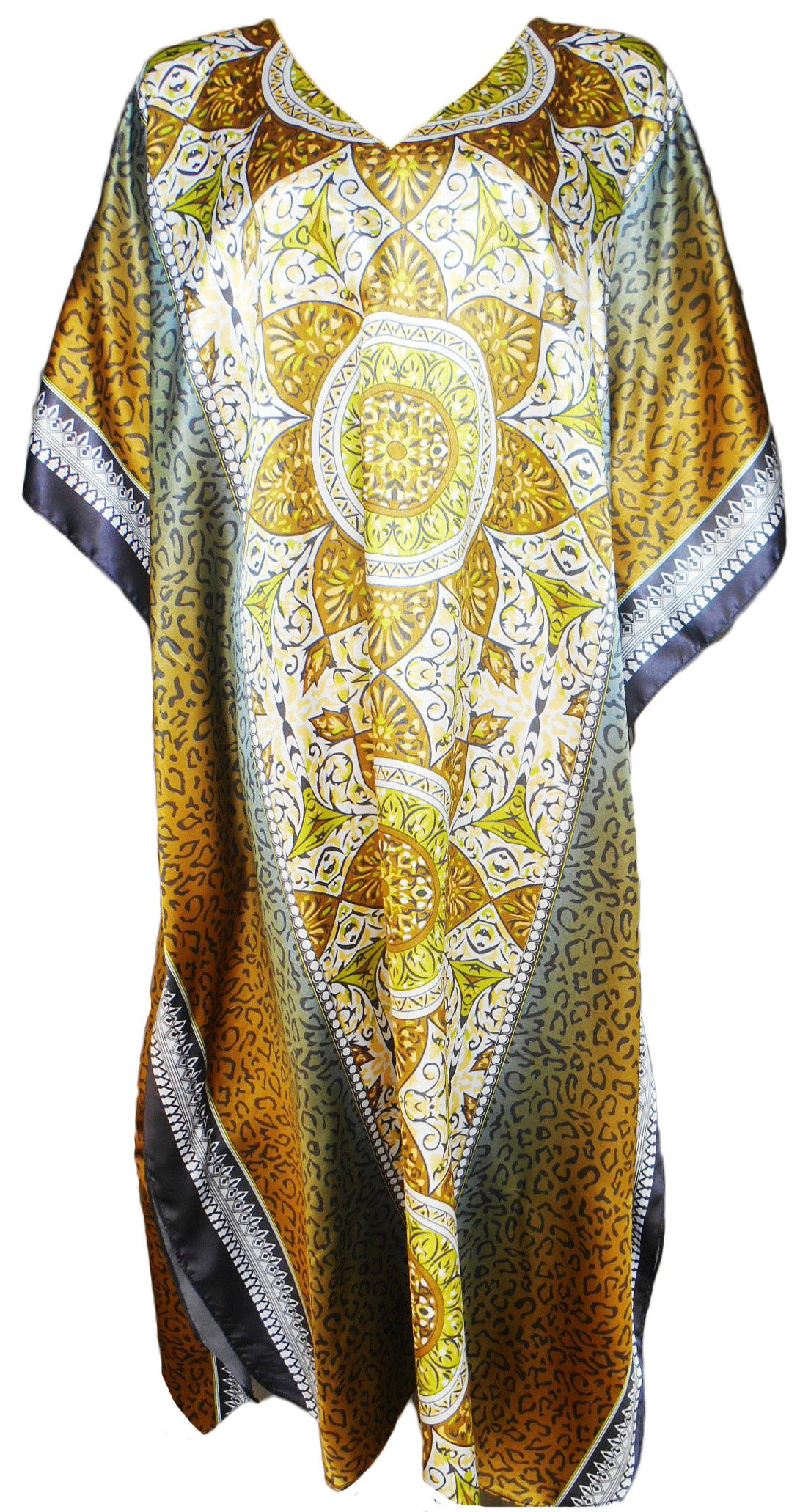 Up2date Fashion Caftan in Antique Forrestal Print, Style Caf-84C2