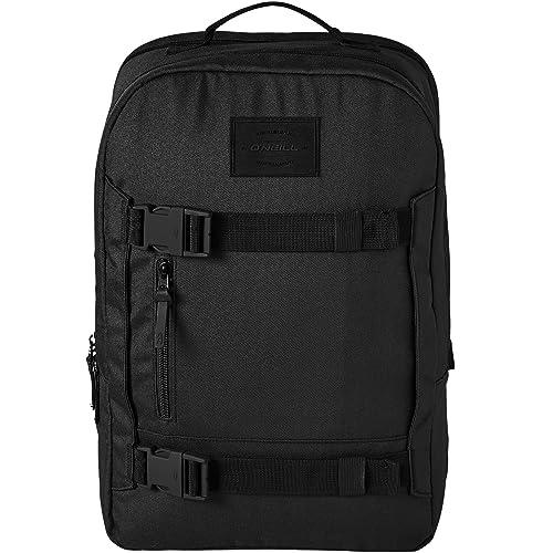 ONeill BM Boarder Plus Backpack Mochila, Hombre, Negro out, Talla Única