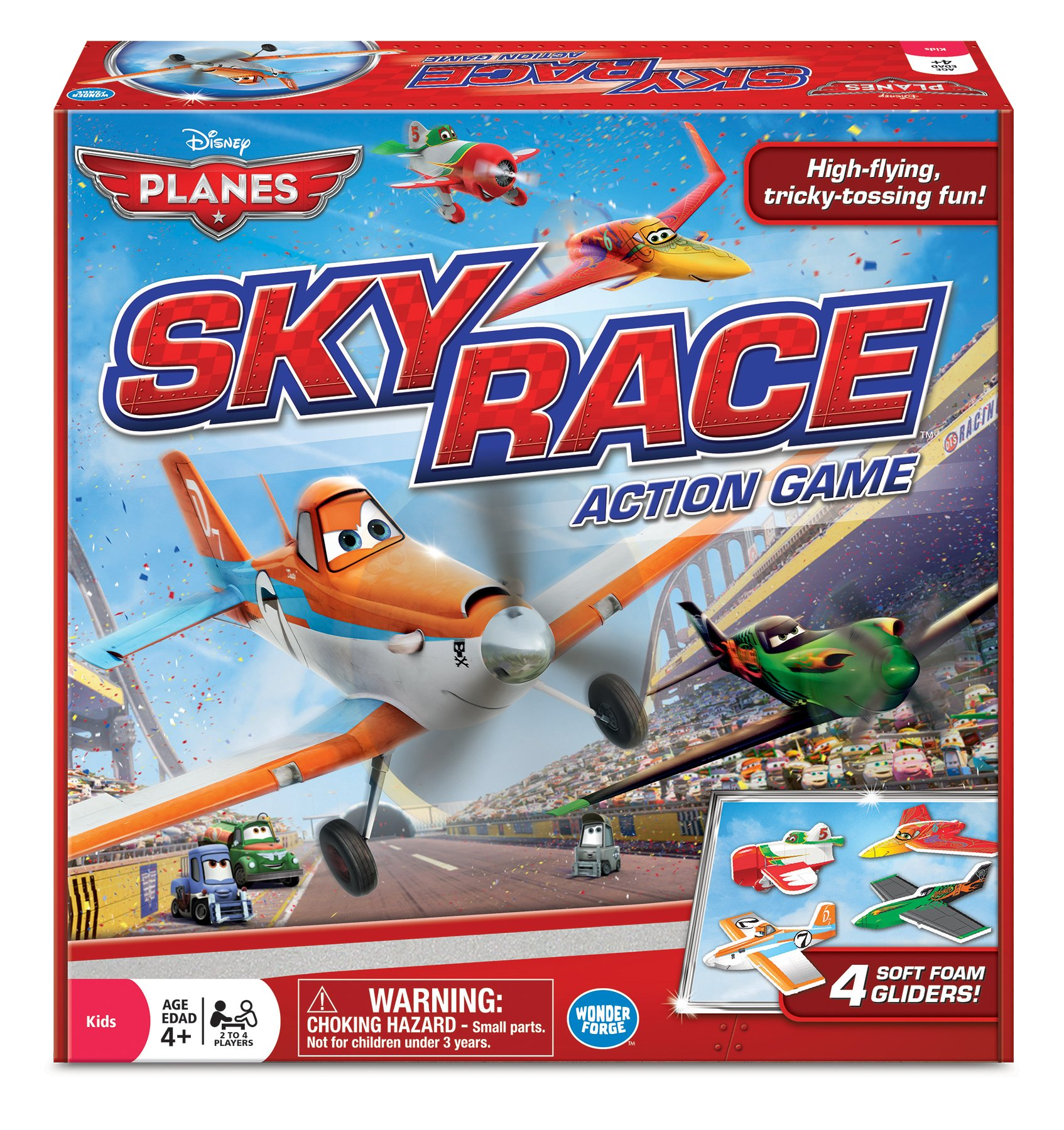 Disney Planes Sky Race Game, Red by The Wonder Forge