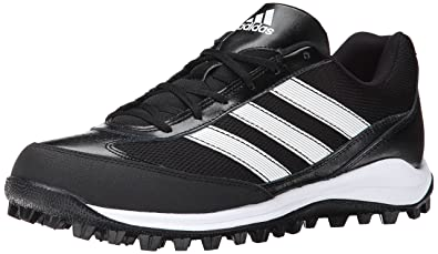 new concept 09d8d 485a9 adidas Performance Mens Turf Hog LX Low Football Cleat, BlackWhiteBlack,