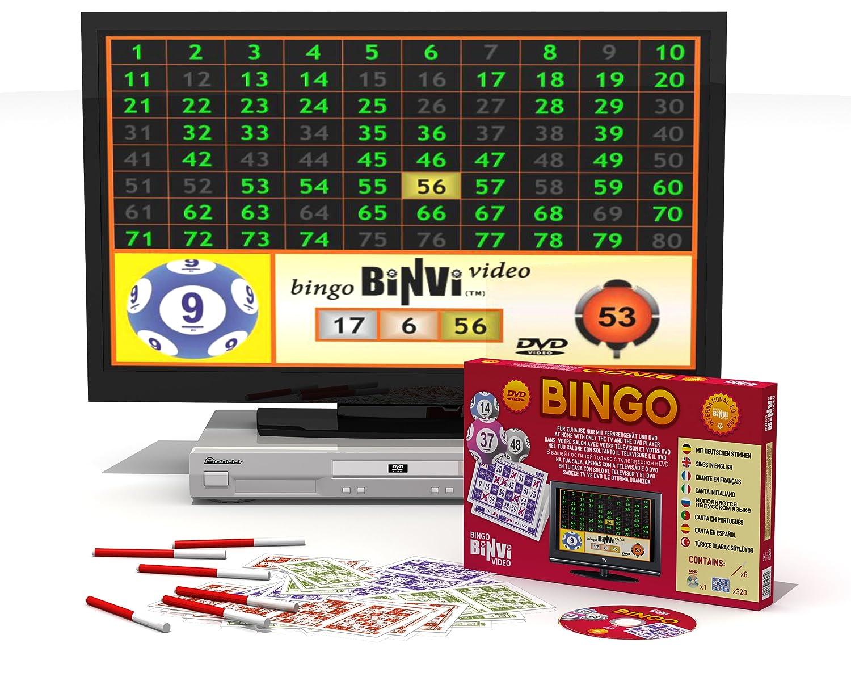 Edición Bingo Binvi 8 Dvd Europea Idiomas dCxBoreW