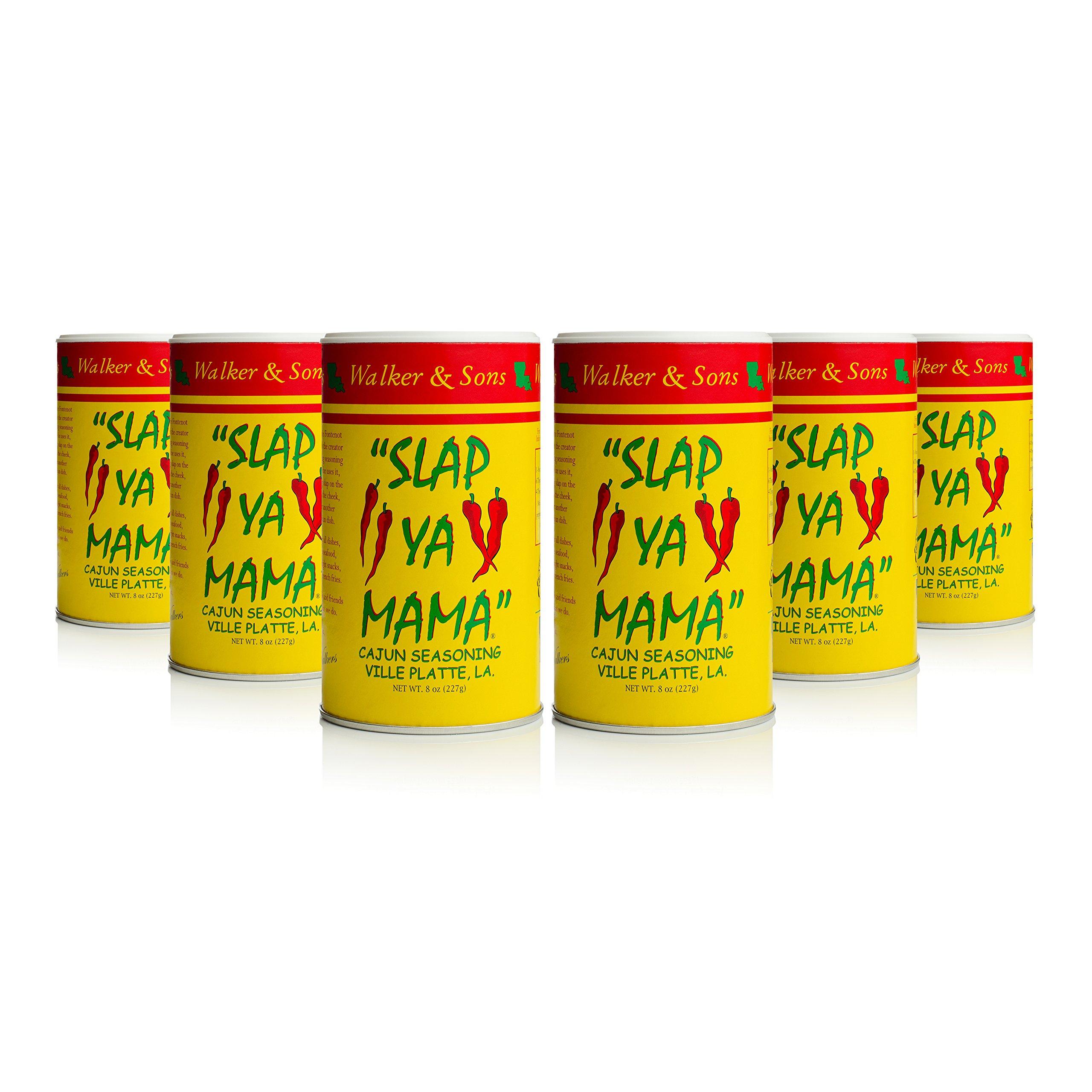 Slap Ya Mama Original Blend Cajun Seasoning 8 oz, Pack of 6
