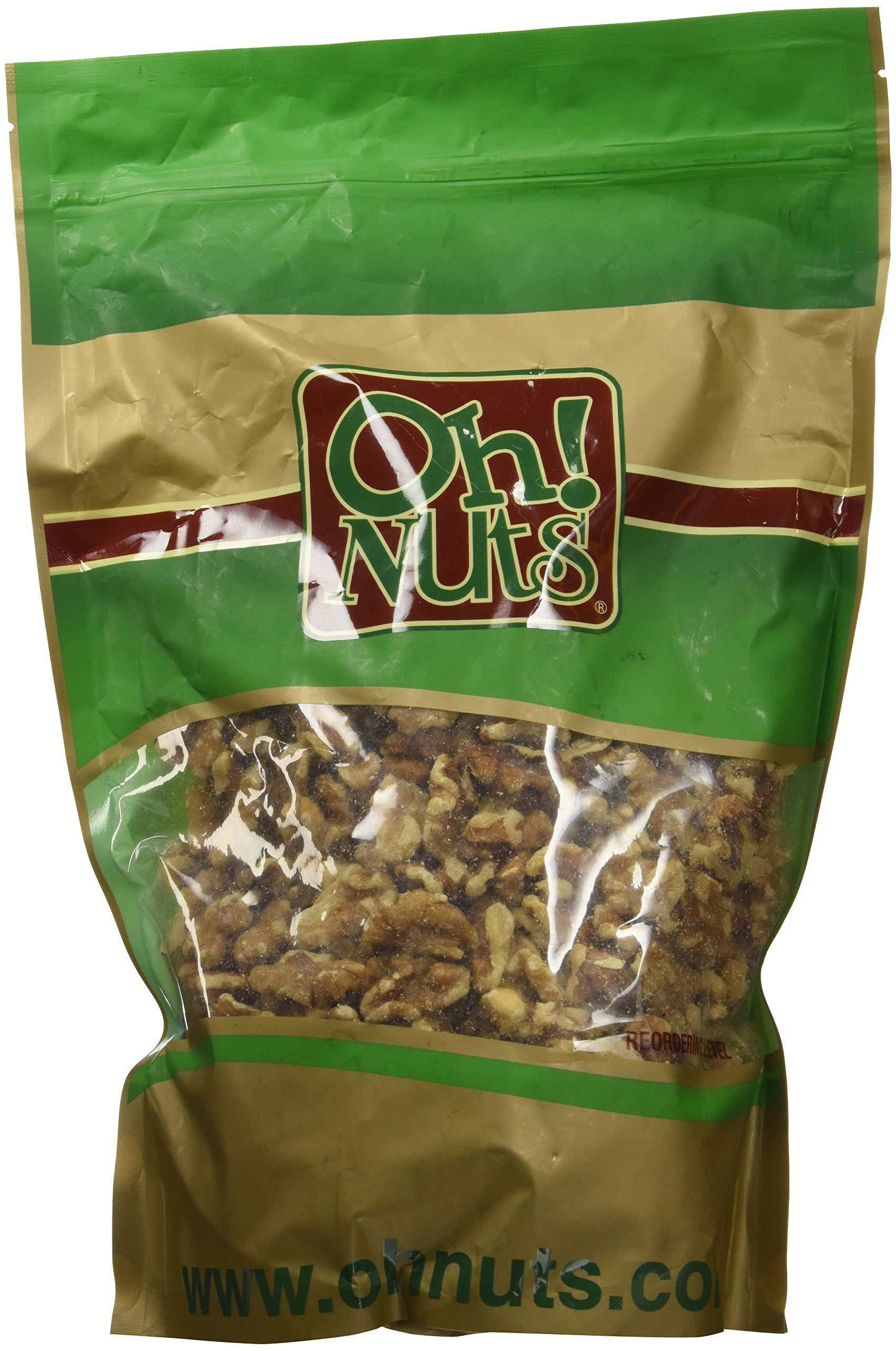 Walnut in Shell Large Fresh, Jumbo Californian Raw Walnuts in Shells - 2 LB Bag - Oh! Nuts by Oh! Nuts