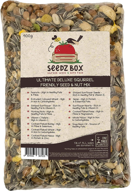 Lujosa mezcla de semillas y nueces