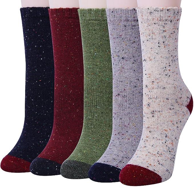 Amazon.com: Set de calcetines para mujer, ideales para ...