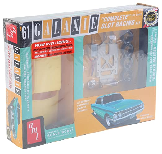 Amazon AMT 1961 Ford Galaxie Slot Car Race Kit Toys Games