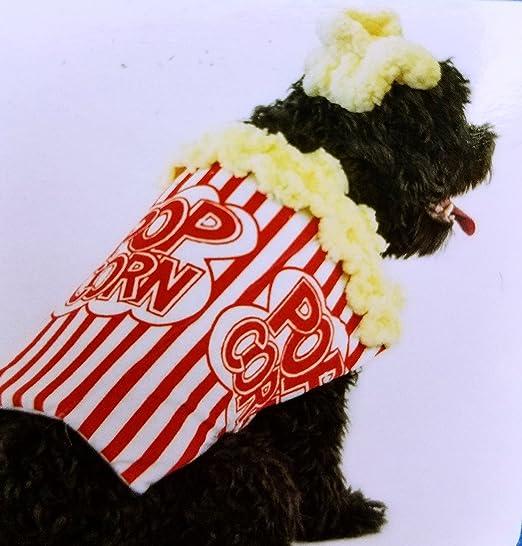 PMP Disfraz de Palomitas de maíz, tamaño Mediano: Amazon.es: Productos para mascotas