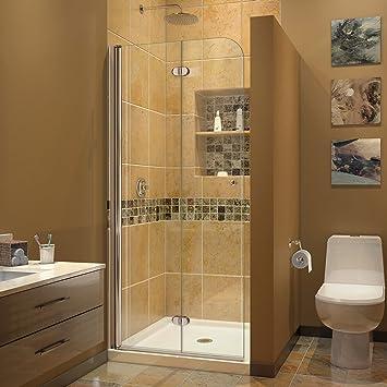 DreamLine DL-6529C Aqua Fold Shower Door with 32\